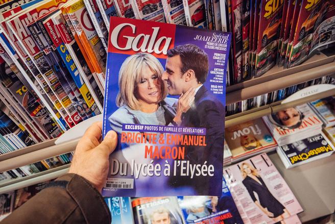 Le court-métrage dans lequel figure Brigitte Macron sera diffusé sur France 2. © Shutterstock