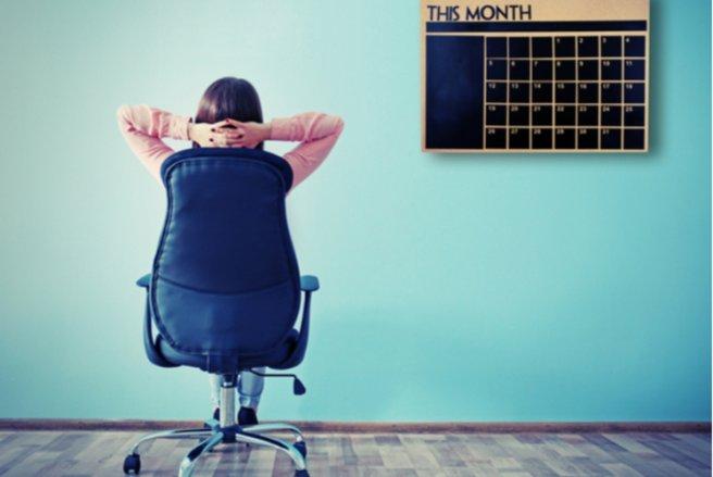 Si vous calculez bien, vous pouvez bénéficier de 9 jours de vacances supplémentaires en 2018. © Shutterstock