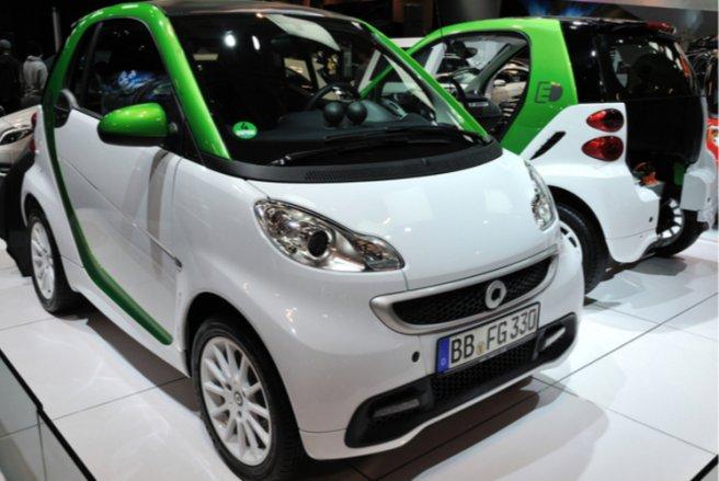 La Smart Fortwo est la voiture la plus volée en France. © Shutterstock