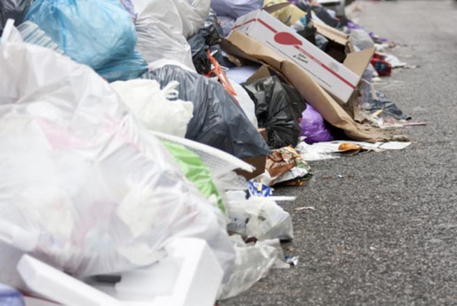 Près de dix tonnes d'ordures ont été déposées en France par des Suisses. © Shutterstock