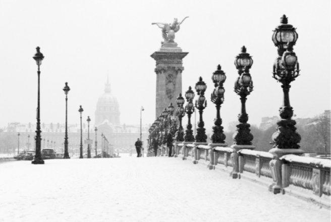 La neige continue de tomber en France et la vigilance orange a été étendue - © Shutterstock