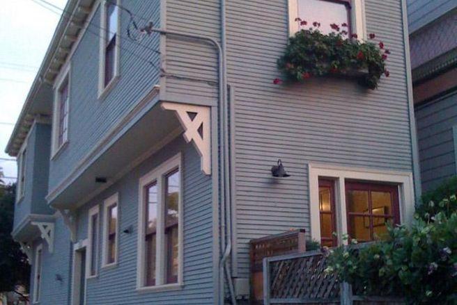 La maison Alameda bouche la vue des voisins qui habitent juste derrière. @Pinterest