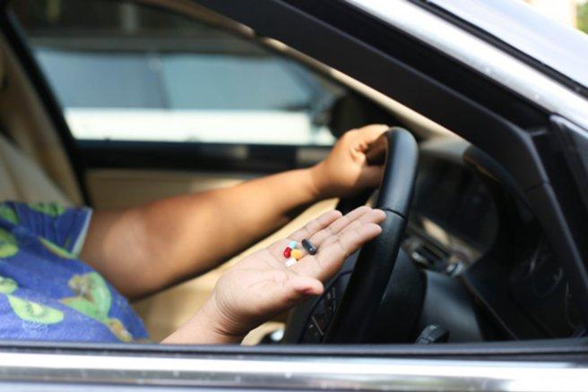 Drogue au volant : des contrôles renforcés. © Shutterstock