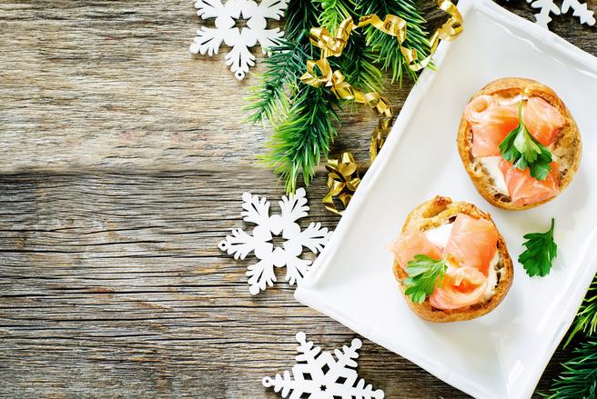 Des entrées de fêtes peu onéreuses et délicieuses pour bien débuter un repas de fêtes, c'est possible!