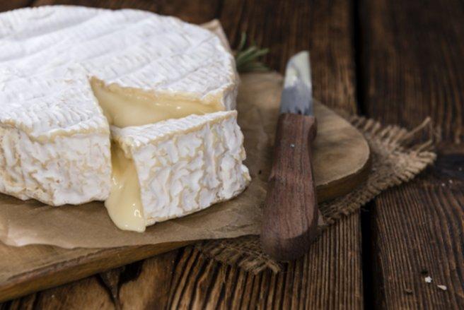 Un camembert bio a été contaminé par la Salmonelle. © Shutterstock
