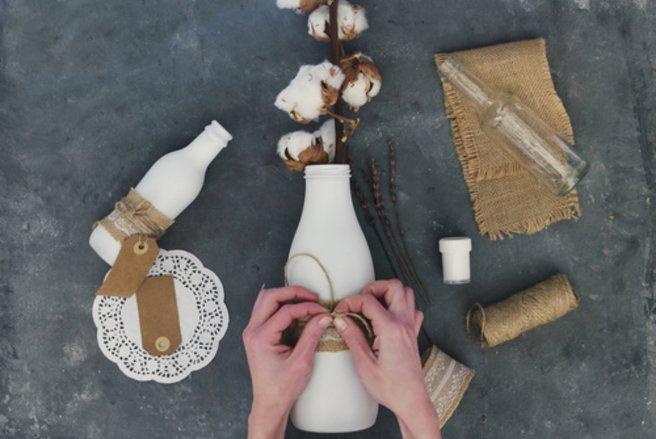 La déco Do It Yourself permet d'exercer sa créativité tout en recyclant des objets
