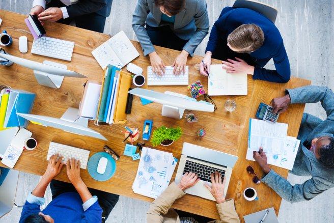 Le coworking © Shutterstock