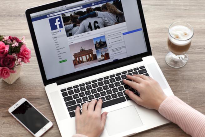 Vos publications sur Facebook ont peut-être été rendues publiques au mois de mai dernier. © Shutterstock