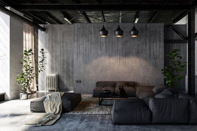 """L'avantage du """"style factory"""", c'est que l'on peut dépareiller son mobilier ou sa déco."""