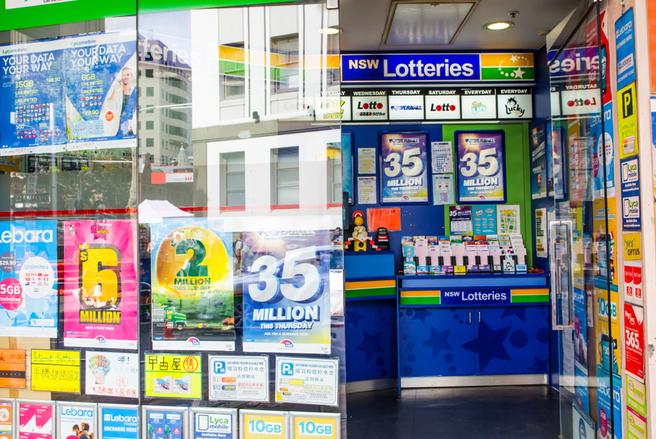 Selon NSW Lotteries, l'organisme officiel gérant la loterie dans cette région, la probabilité de l'emporter une fois est d'une chance sur 1,845 million. © Shutterstock