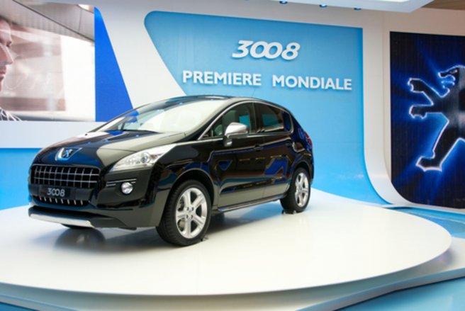 Le Peugeot 3008 remporte un succès commercial et d'estime. © Shutterstock