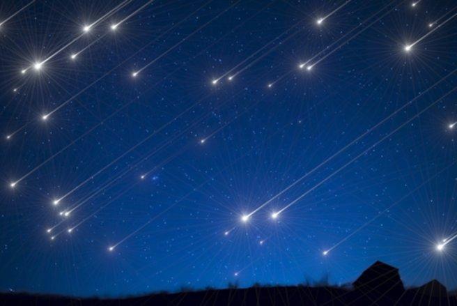 Les Orionides pourront être vues entre minuit et l'aube, cette nuit. © Shutterstock