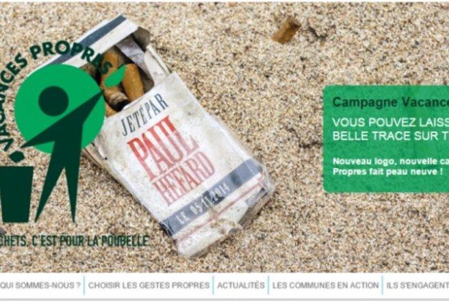 Chaque année en France, des dizaines de millier de tonnes de déchets sont abandonnés sur les lieux de vacances.