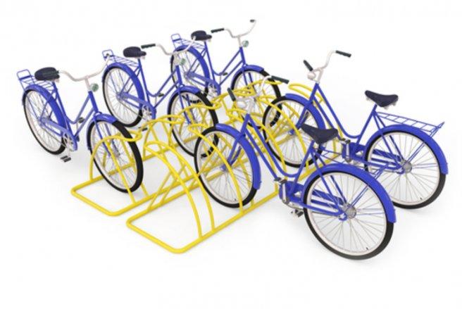Les vélos de Gobee.bike sont accessibles depuis n'importe quel parking à vélos et peuvent y être parqués en retour. © Shutterstock