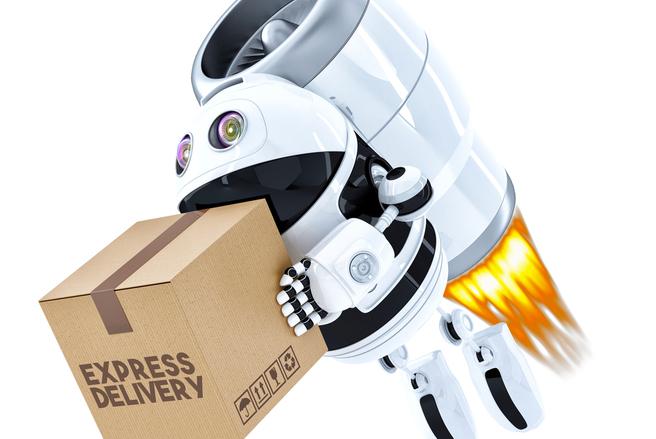 Un robot pour vous livrer vos courses à domicile ? Peut-être en 2019... (c) Shutterstock