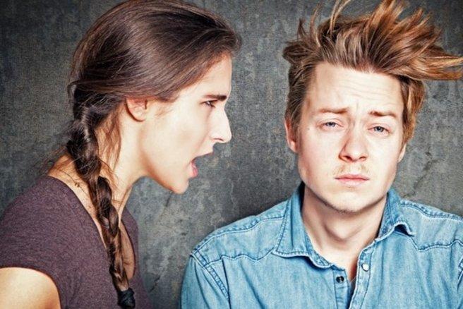 Un couple en dispute