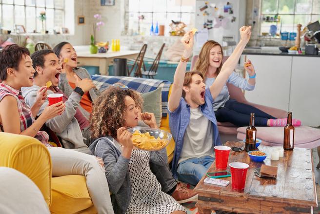 Les ventes de pizzas fraîches ont également bondi de 18,9 %. © Shutterstock