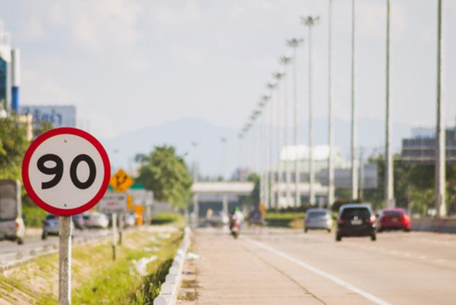 Certains départements vont passer à 90 km/h mais pas tous. © Shutterstock