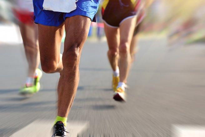 Un tiers des français pratique la course à pied. © Shutterstock