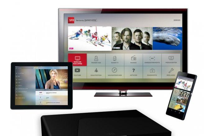 Profitez d'un abonnement RED Box pour 10 € par mois, à vie et sans engagement. © SFR