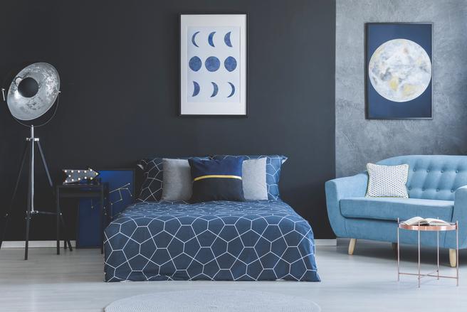 La couleur principale de la chambre a un impact sur le bien-être général des individus.