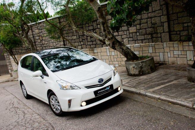 La Toyota Prius est bien notée par l'Ademe. © Shutterstock