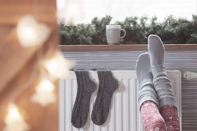 Un degré supplémentaire chez soi accentue la consommation d'énergie de 7 % et donc, alourdit la facture. © Shutterstock