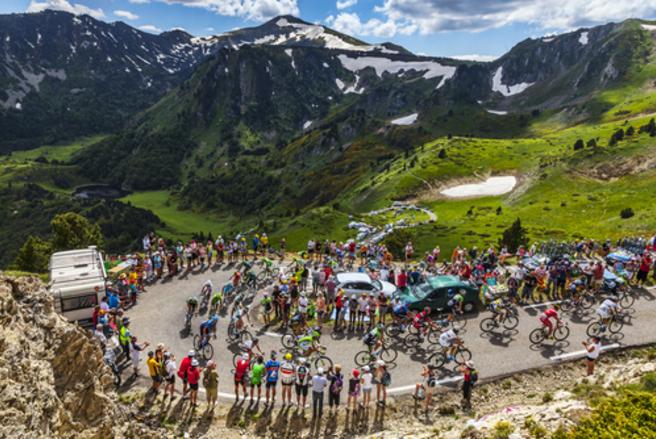 Après douzeans d'absence,l'Iseran, plus haut col routier des Alpes (2.270 mètres), est de retour sur la route du Tour.© Shutterstock