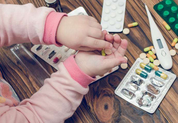 enfant médicament