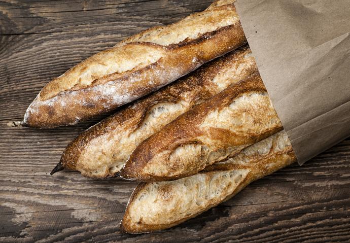 pain baguette blé